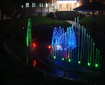آبنمای موزیکال و هارمونیک تالار یاس سبزوار