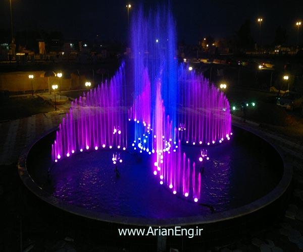آبنمای هارمونیک شهرک حسینیه بغداد ( عراق )