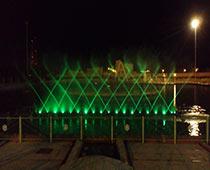 آبنمای موزیکال و هارمونیک پارک بزرگ شهر (یزد)
