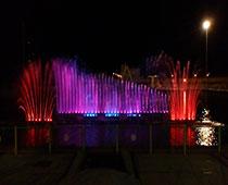 آبنمای موزیکال پارک بزرگ شهر (یزد)