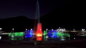 آبنمای هارمونیک و چرخشی پارک کوهسار نجف آباد