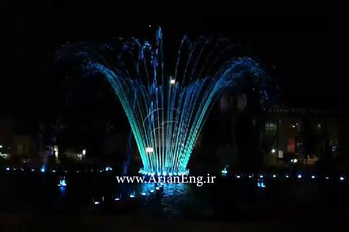 آبنمای هارمونیک و ریتمیک پیرانشهر